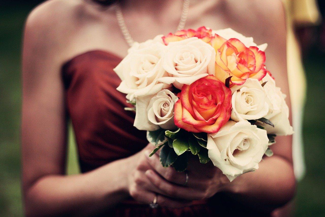 bouquet, bouquet of flowers, roses