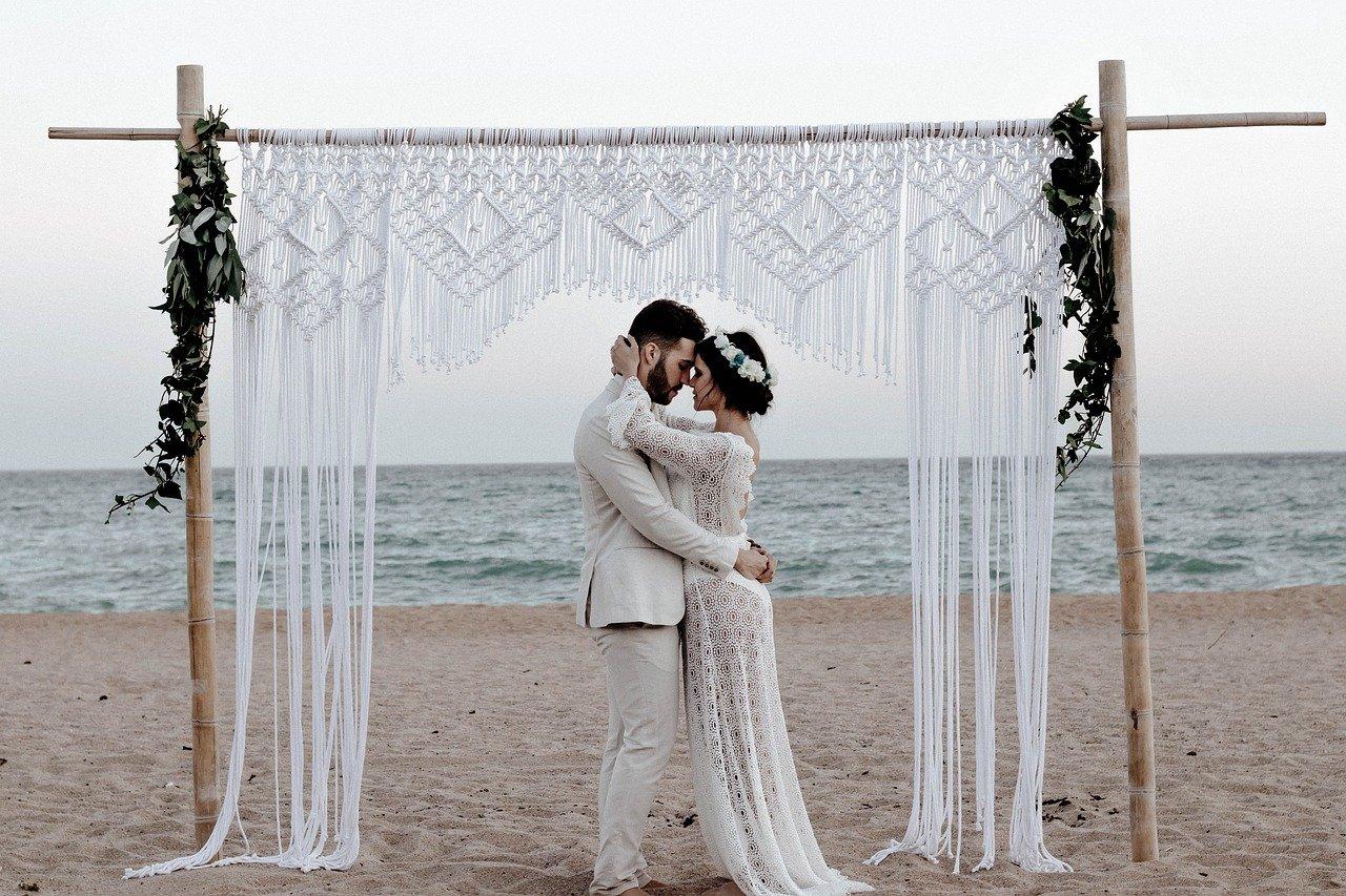 marriage, couple, wedding