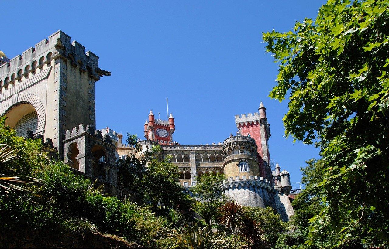 portugal, sintra, fairy castle