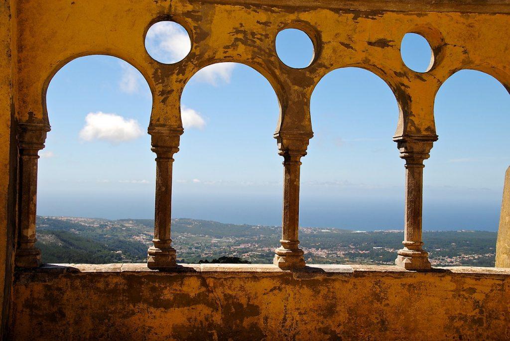 terrace, portugal, sintra