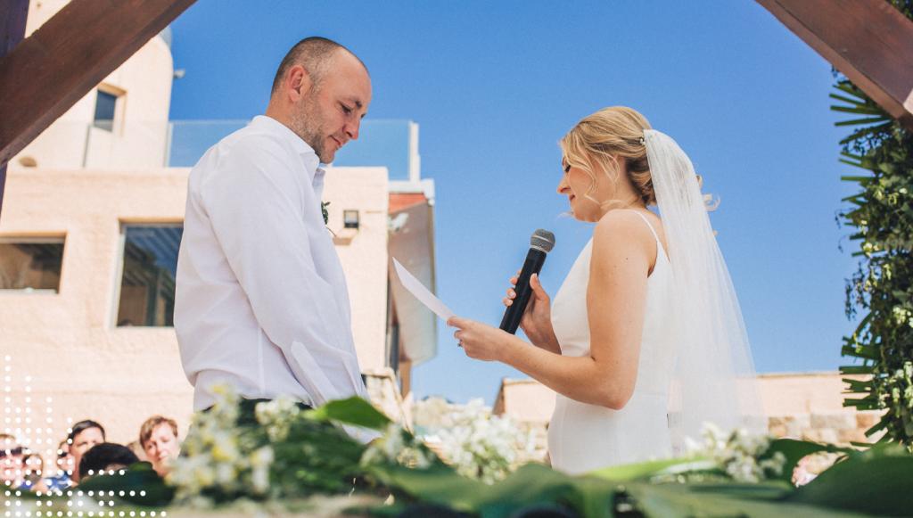 portugal destination wedding over the ocean