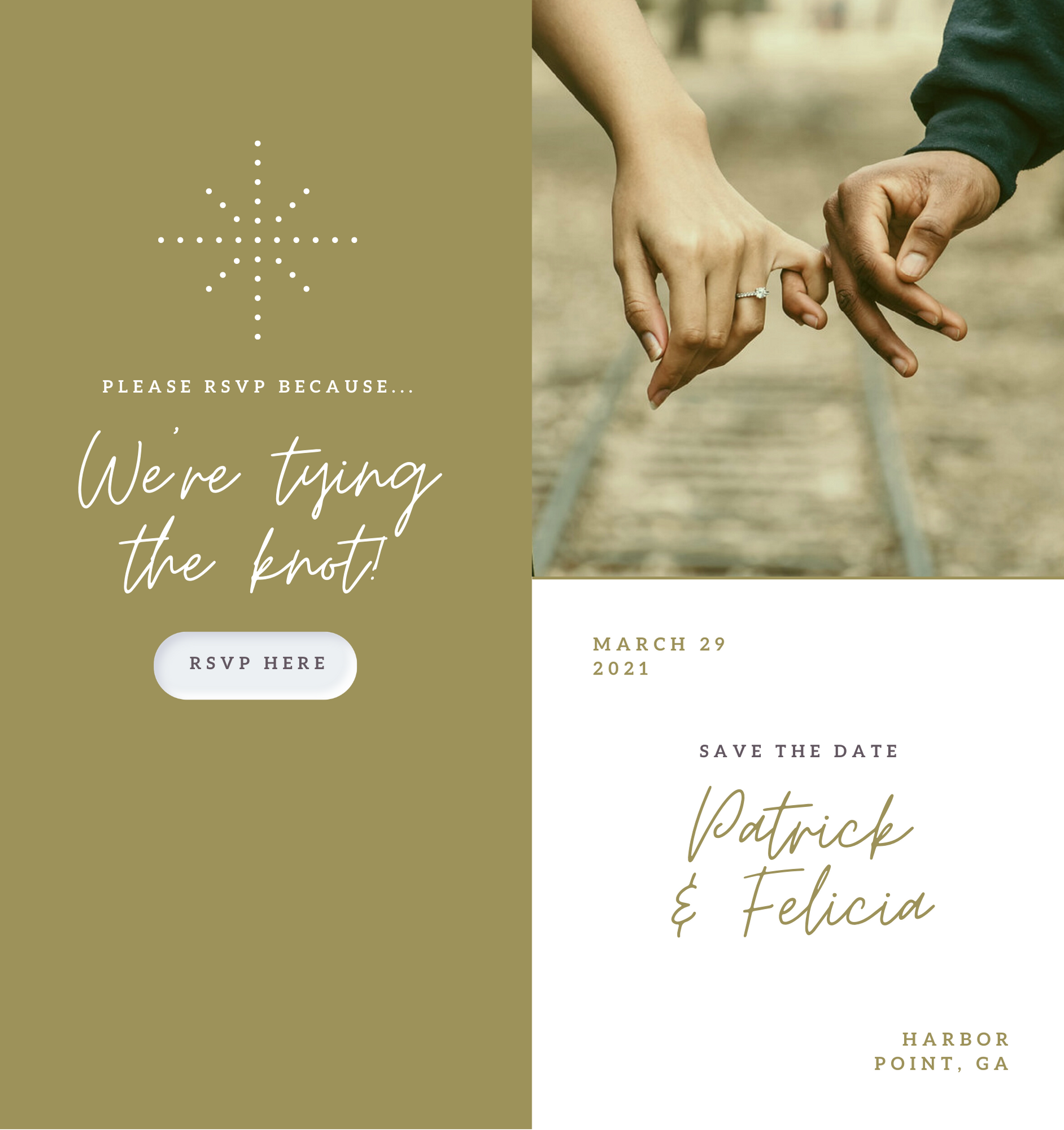 digital rsvps can help you save money on your wedding