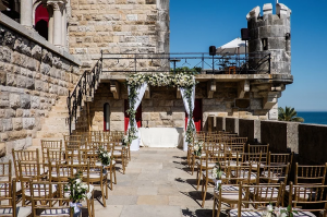 Estoril castle wedding
