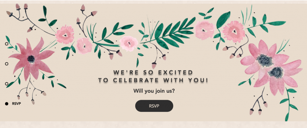 How to create a simple RSVP feature for your wedding website